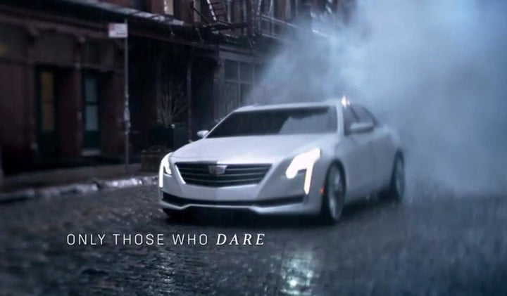 2016 Cadillac CT6 spotted in Oscars ad | Digital Trends