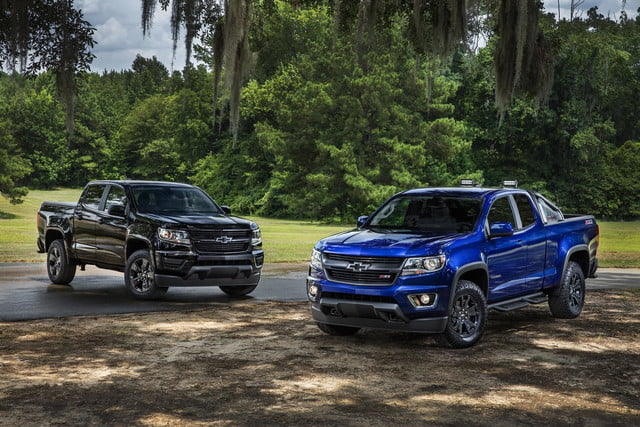 2016 Chevrolet Colorado Midnight Edition and Trail Boss