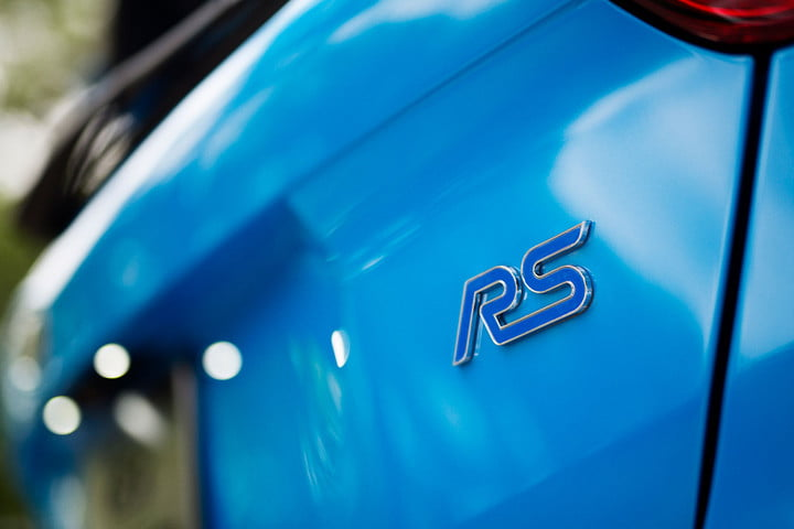 2016 ford focus rs first drive logo