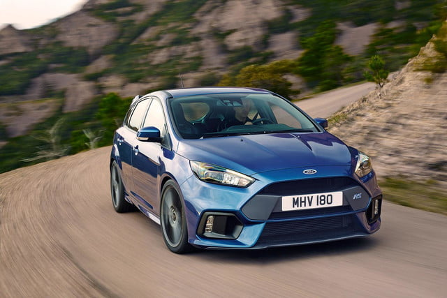 2016 Ford Focus RS press front angle