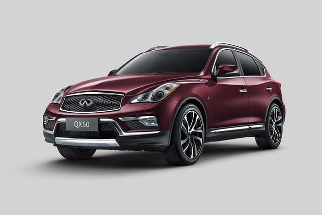 2016 Infiniti QX50 front angle