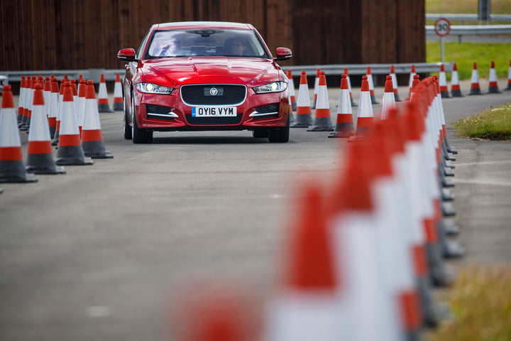 2016 jaguar land rover technology showcase  roadwork assist 2