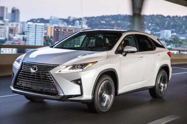 2016 Lexus RX350 and Lexus RX450h First Drive Review  Digital Trends