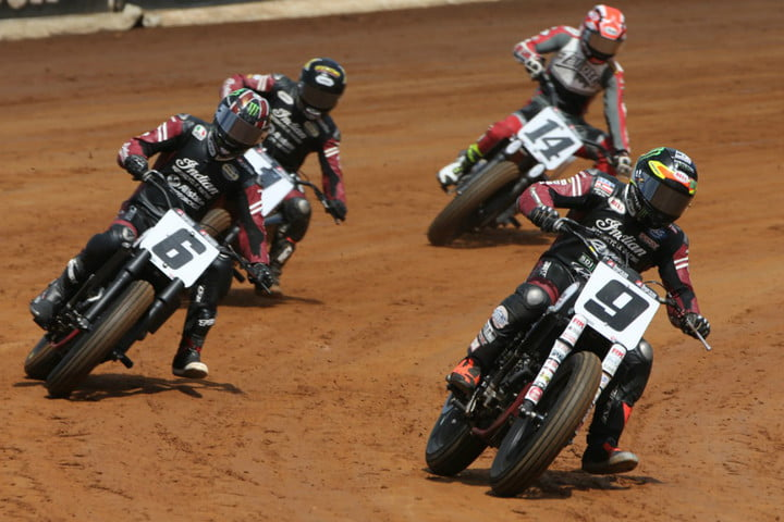 2017 American Flat Track Indian Wrecking Crew