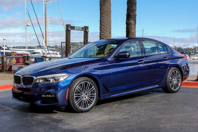 BMW Series Review Infinitely More Innovative Digital Trends - Bmw 5 series pictures