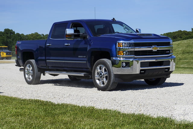 2017 Chevrolet Silverado Hd First Drive 13180