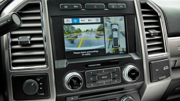 backup and parking tech 2017 Ford F-450