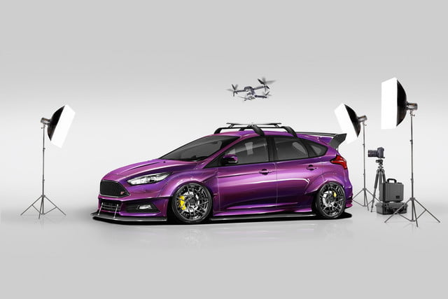 ford focus rs and st sema 2017 modified cars photos. Black Bedroom Furniture Sets. Home Design Ideas