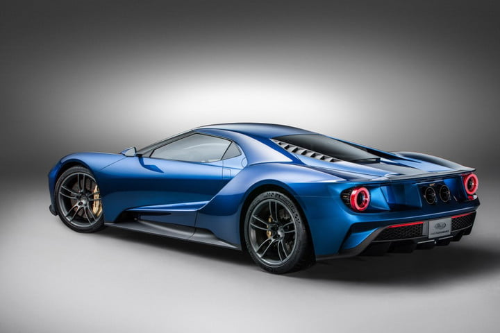 Ford Gt Rear Angle