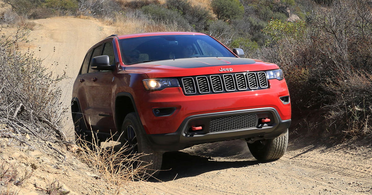 2017 Jeep Grand Cherokee Trailhawk First Drive