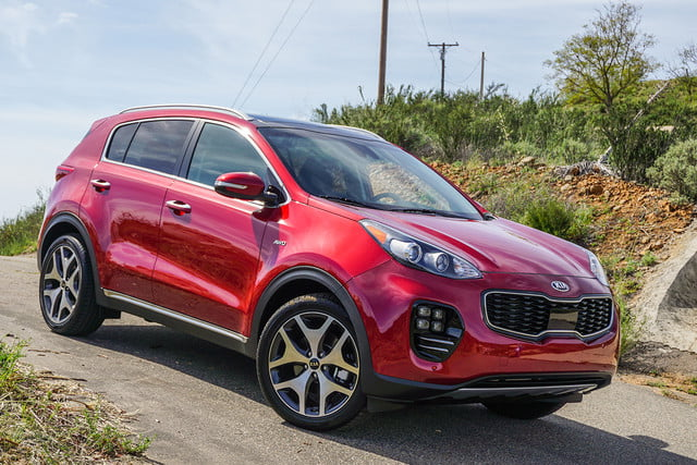 2017 kia sportage crossover suv first drive price digital trends. Black Bedroom Furniture Sets. Home Design Ideas