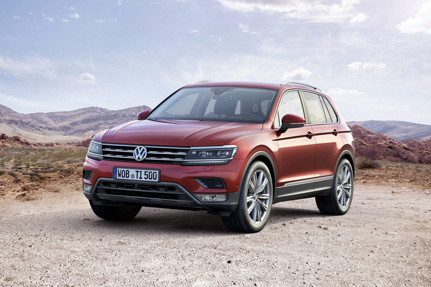 Volkswagen Kicks Off Its Crossover Offensive With The Entirely New 2017 Tiguan