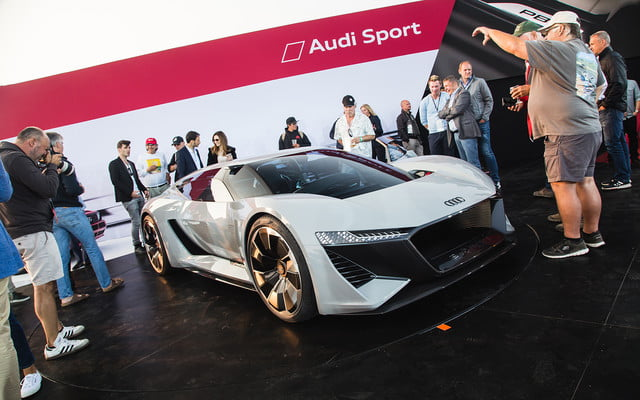 audi pb 18 e tron concept allies performance and electrification 2018 pb18  monterey car week 4