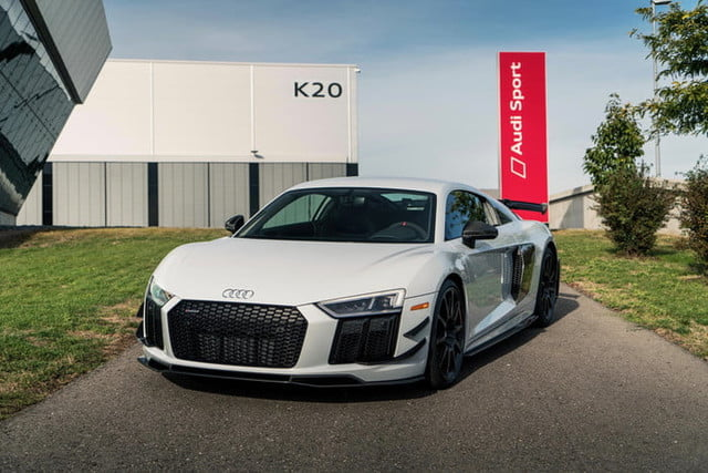 Audi R V Plus Coupe Competition Package Revealed Digital - Audi r8 2018
