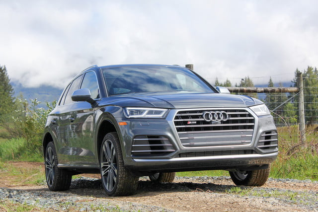 2018 audi sq5 first drive review front angle v2