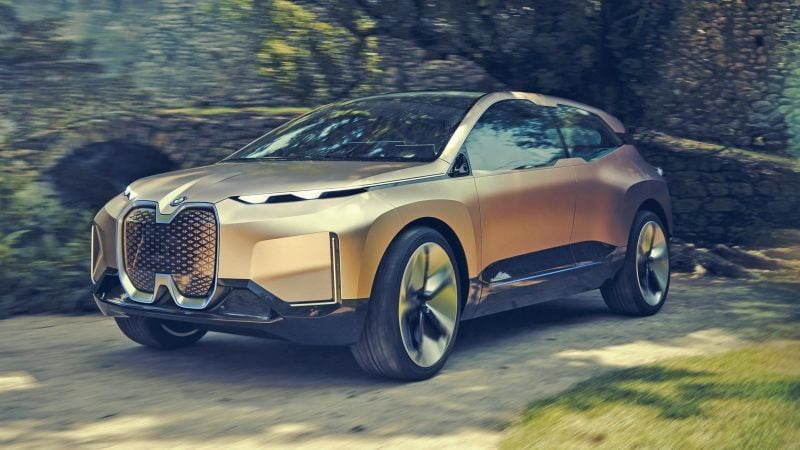 BMW Vision iNEXT Concept Leaked on the Web Before Official Reveal ...