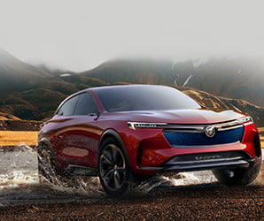 The Enspire electric concept SUV is a Buick that thinks it's a Tesla