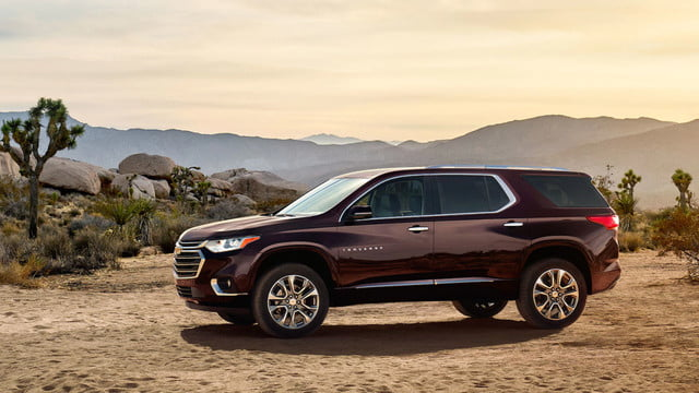 All New 2018 Chevrolet Traverse Redesign Focuses On Spaciousness