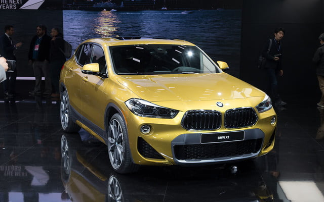the 2018 bmw x2 takes its official worldly bow in detroit