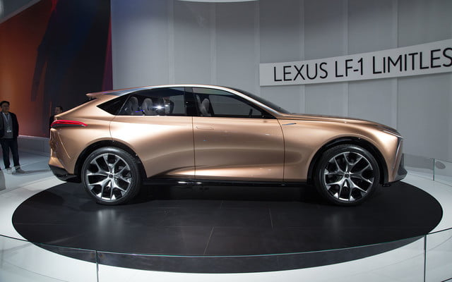 the lexus lf 1 limitless concept previews a new direction for flagship crossover 2018 detroit  10