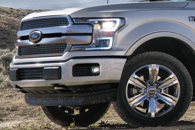 2018 Ford F-150 Limited Grille