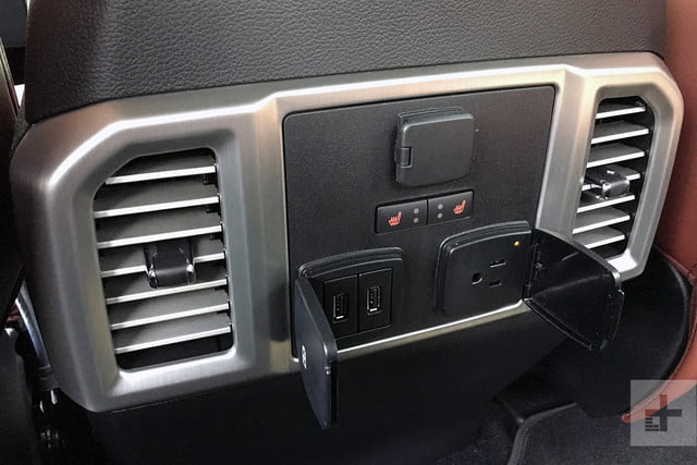 2018 Ford F 150 review dash detail