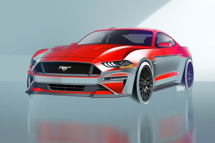 2018 ford cars. wonderful cars 2018 ford mustang inside ford cars