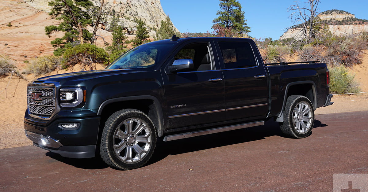 2018 gmc sierra denali 1500 first drive review digital. Black Bedroom Furniture Sets. Home Design Ideas