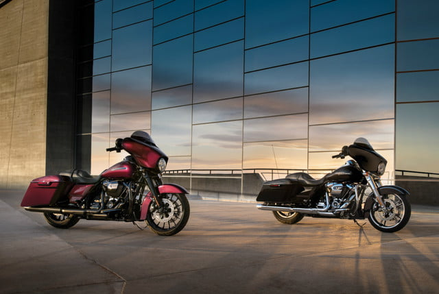2018 Harley-Davidson Softail and Trouing motorcycles