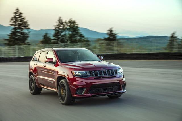 2018 Jeep Grand Cherokee SRT Trackhawk First Drive Review
