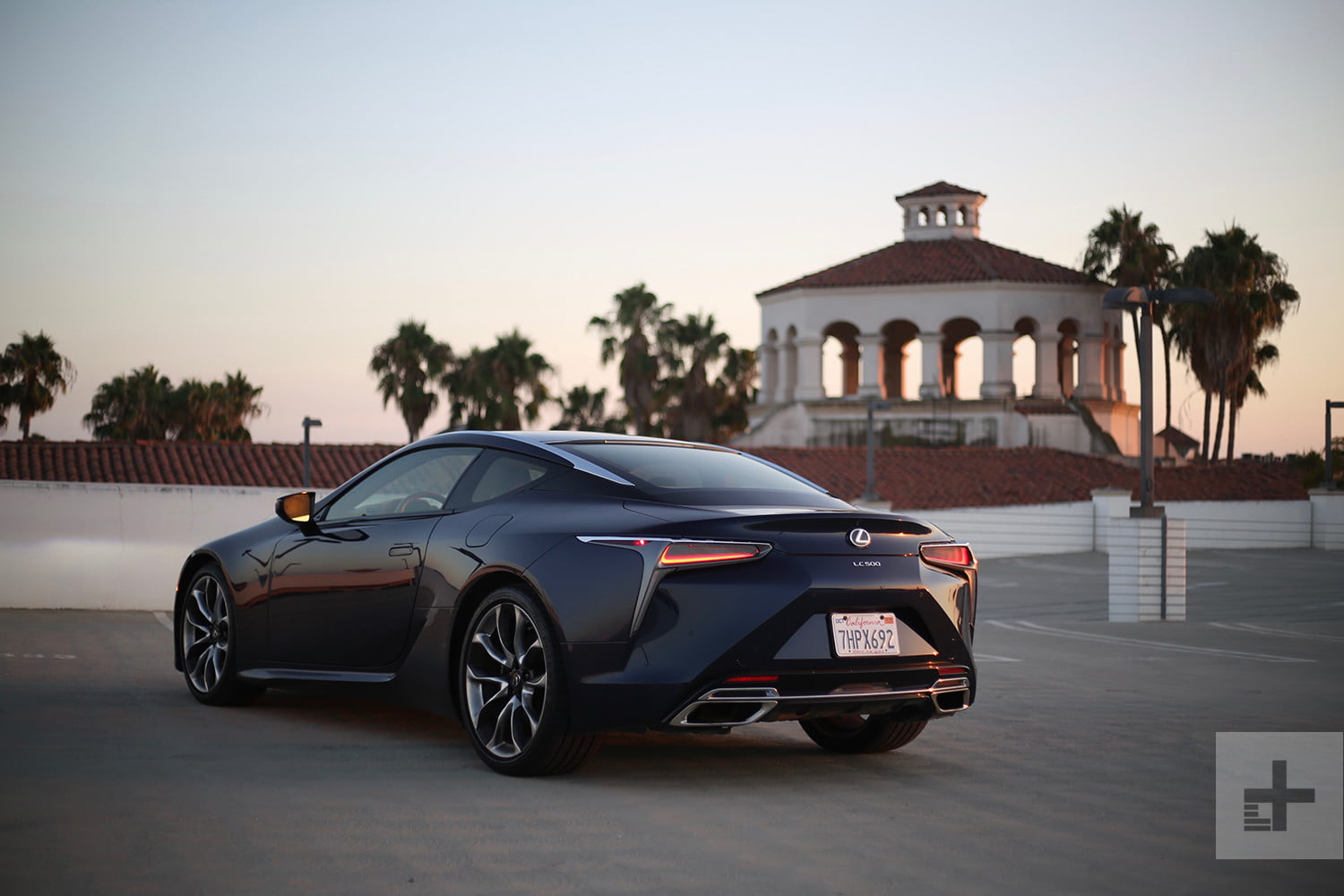 2018 Lexus Lc500 Back Left