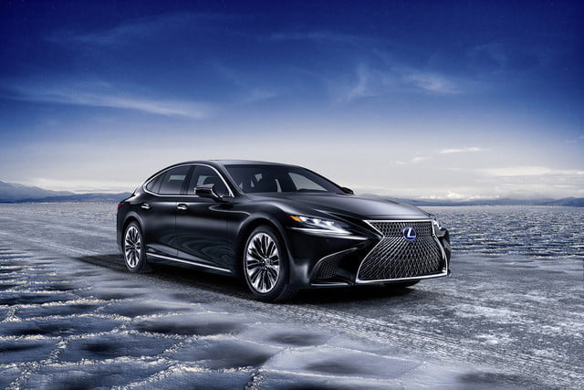 lexus ls may get plug in hybrid ev hydrogen fuel cell variants 2018 ls500h  22