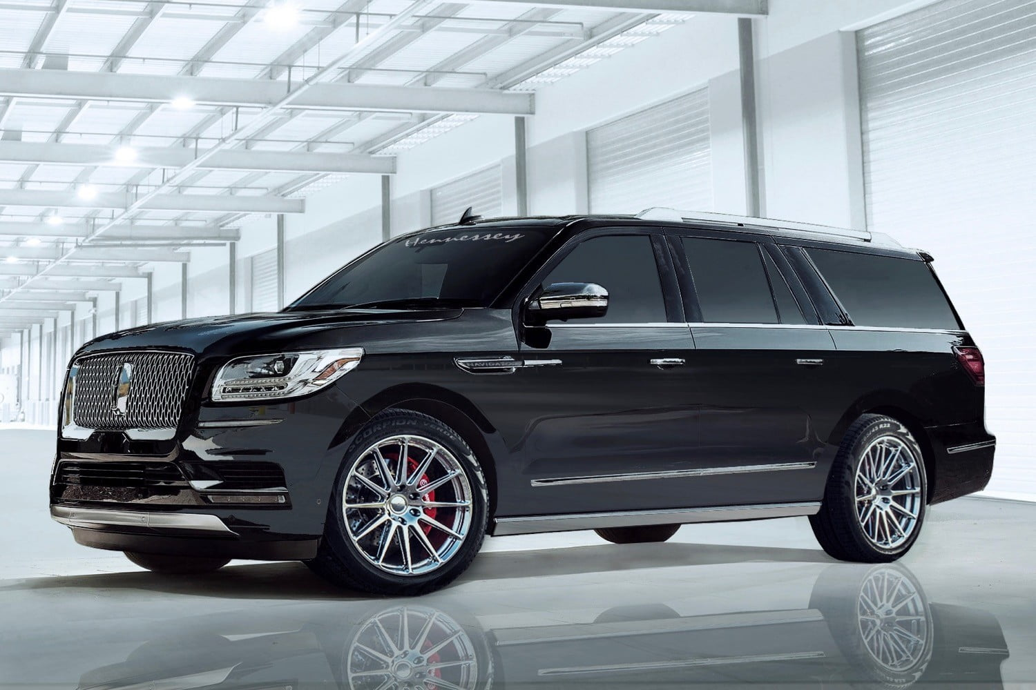 Hennessey Performance Engineering Builds 600 Hp Lincoln Navigator