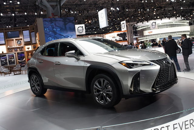 Lexus Ux Crossover At New York Auto Show 2018 2019 2