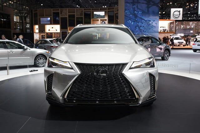 lexus ux crossover at new york auto show 2018  2019 3