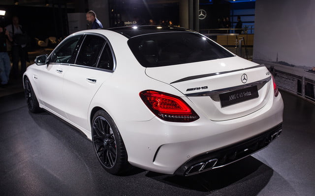 mercedes amg subtly updates c 63 lineup for new york 2018  2019 class 14