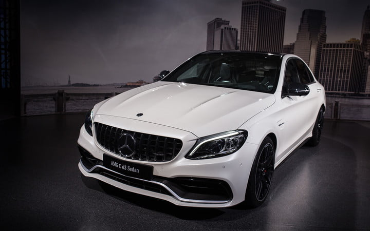 Mercedes Amg Subtly Updates C 63 Lineup For New York 2018 2019 Cl 2