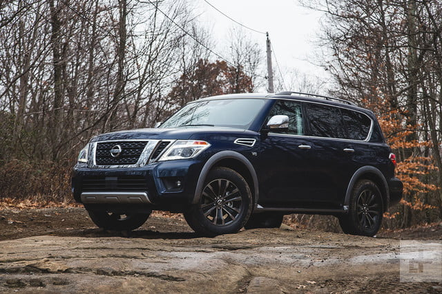 2018 Nissan Armada Platinum Review Digital Trends
