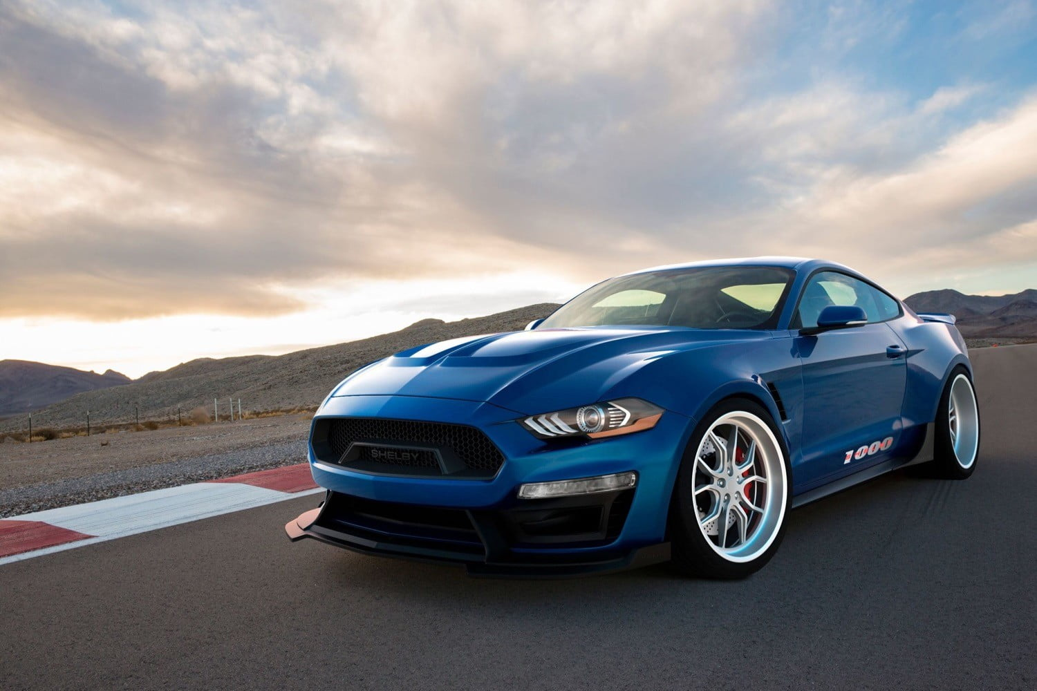 The 1000 hp shelby 1000 mustang is so extreme its not street legal