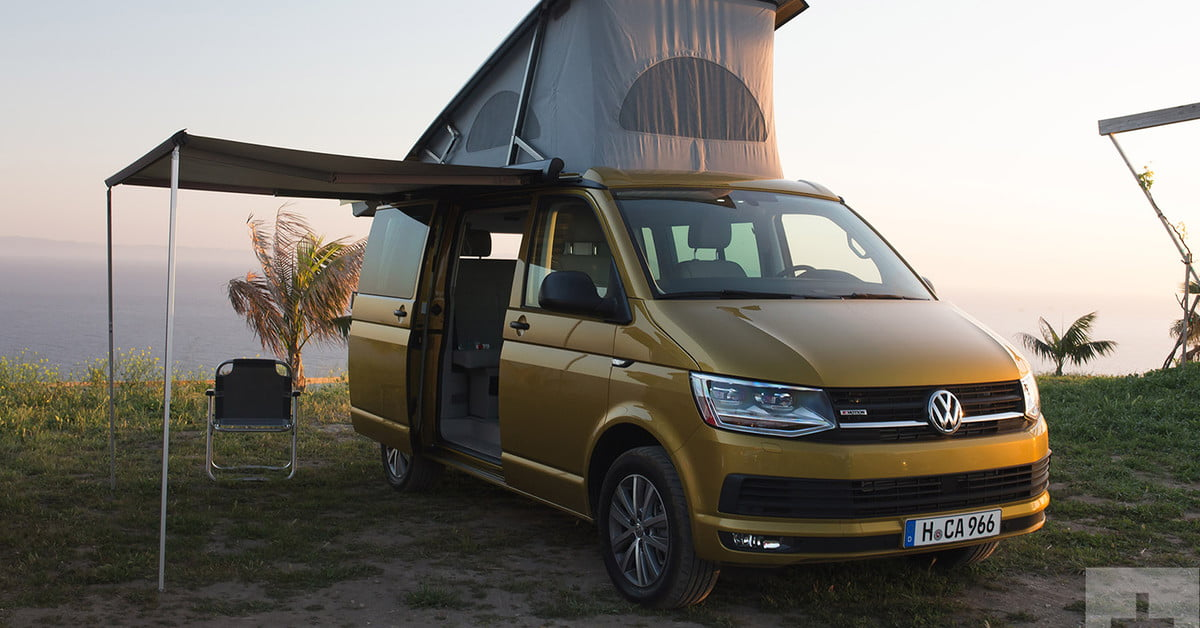 2018 volkswagen t6 transporter california first drive. Black Bedroom Furniture Sets. Home Design Ideas