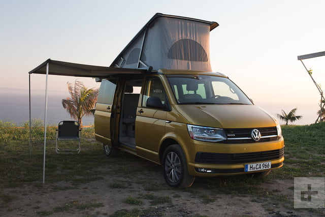 2018 Volkswagen T6 Transporter California First Drive