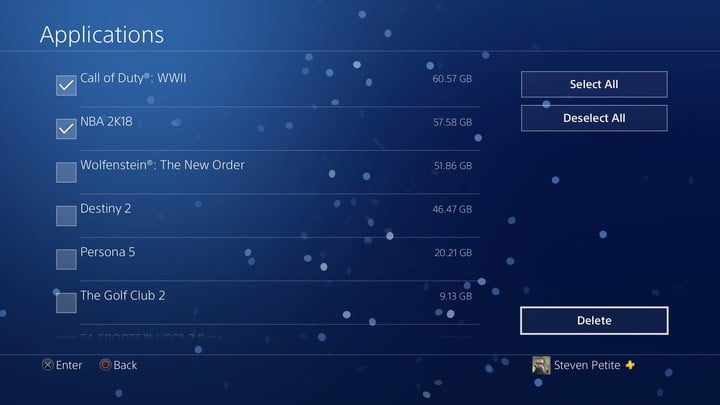 ps4 how to delete reinstall games 20180108131046 1