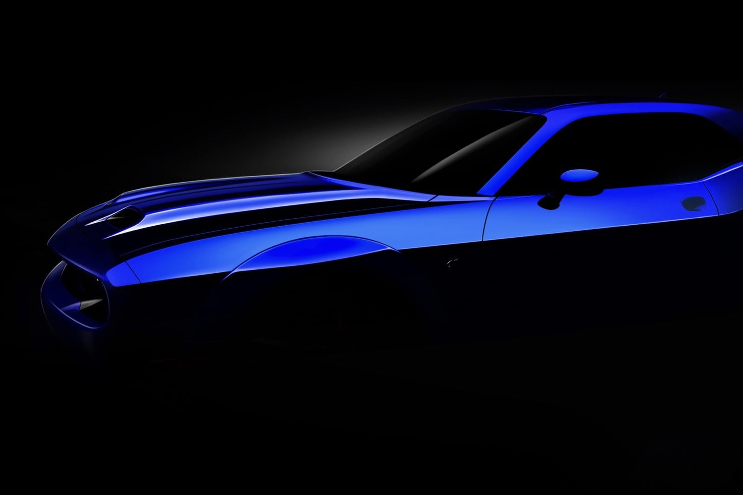 2019 Dodge Challenger Srt Hellcat Gets Dual Snorkel Hood Digital