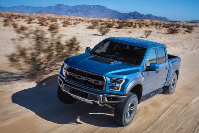 2019 ford f-150 raptor adds adaptive dampers, 'trail control' system