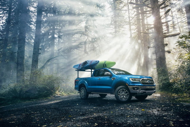2019 Ford Ranger Midsize Pickup Truck Can Tow 7 500 Lbs