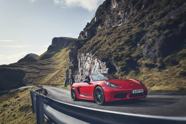 2019 Porsche 718 Boxster T Was Made For Winding Roads Digital Trends