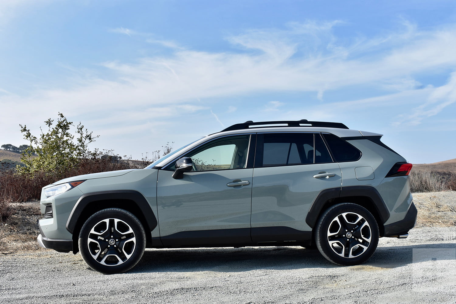 While other crossovers dabble in dirt, Toyota's truck-like RAV4 doubles down
