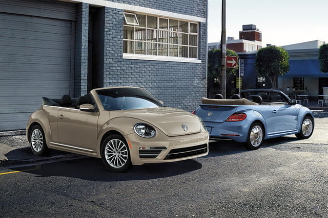 2019 volkswagen beetle final edition marks end of beetle production digital trends. Black Bedroom Furniture Sets. Home Design Ideas