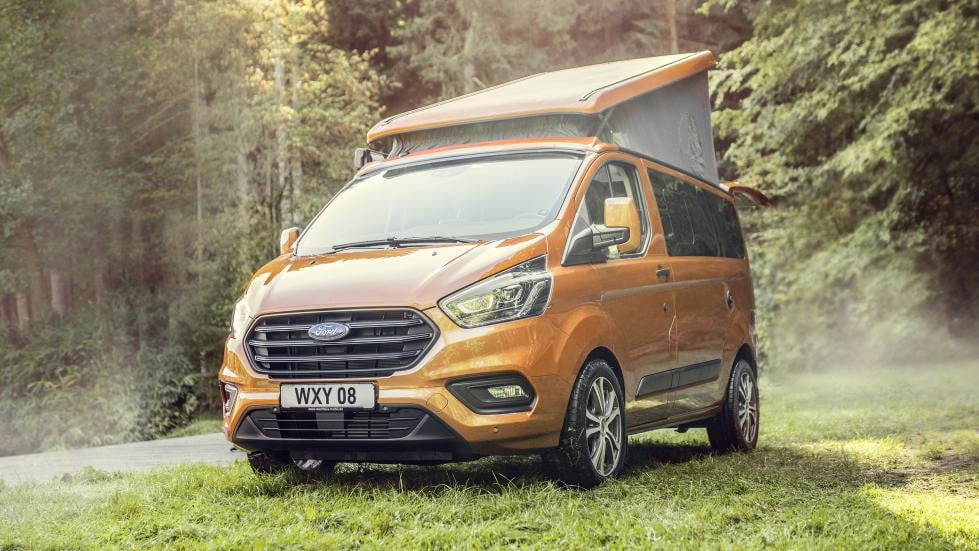 b9554224ff2d7c Ford s Transit Custom Nugget Compete with the Volkswagen California ...