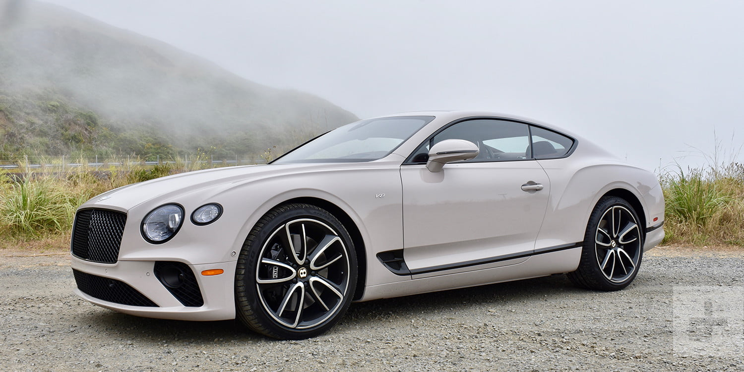 2020 Bentley Continental Gt V8 Coupe First Drive Review Digital Trends